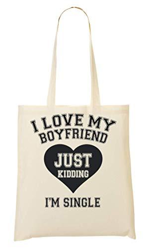 Sacchetto I'm My Boyfriend Tote Single Bag Di I Kidding tq7zXPP