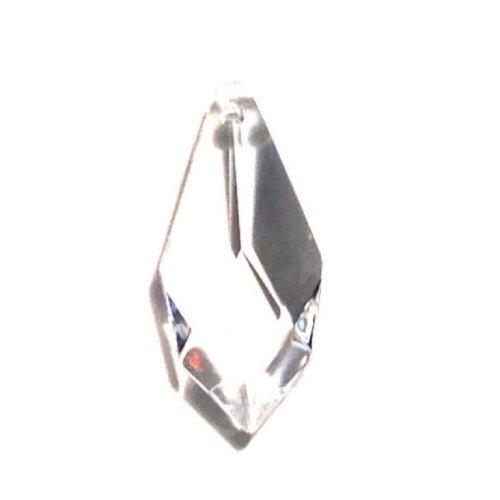 Diamond Shape 30% Lead Crystal 38mm - 1.5