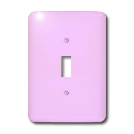 (3dRose LLC lsp_38463_1 Cotton Candy Pink- Solid Colors- Art Designs, Single Toggle Switch)