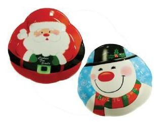 Benross Christmas Decorations Xmas Melamine Serving Tray by Benross (Image #1)