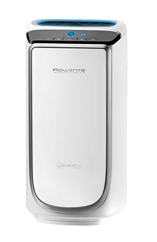 Rowenta PU4020 Intense Pure Air – Purificador de aire, hasta 60 m² con sensores del nivel de contaminación, 4 niveles de filtración y tecnología NanoCaptur para sustancias contaminantes