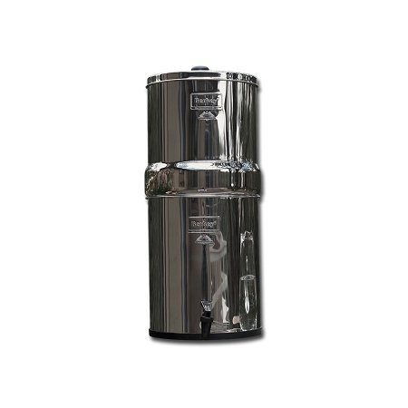 Big Berkey Water Filter System With 2 9-Inch White Ceramic Filters and 2 PF-4 Fluoride Filters