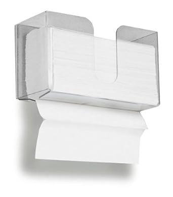 Doble dispensador para papel higiénico toalla de papel, 150 Capacidad para Multi-fold y