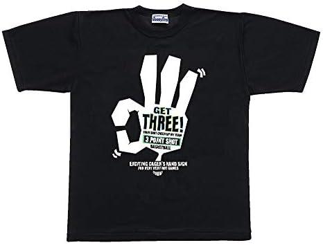 メンズ バスケットボール Tシャツ(スリー!) AT-86