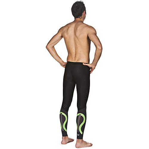Arena Powerskin Carbon Compression Long Tights, Black/Deep Grey, X-Small by Arena (Image #3)