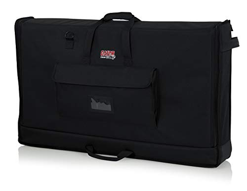 """Price comparison product image Gator Cases Padded Nylon Carry Tote Bag for Transporting LCD Screens,  Monitors and TVs Between 40""""- 45""""; (G-LCD-TOTE-LG) (Renewed)"""