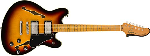 Squier by Fender Classic Vibe Starcaster – Maple Fingerboard – 3-Color Sunburst