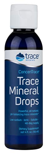 Trace Minerals Concentrace Trace Mineral Drops, 4-Ounce