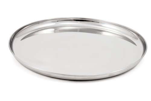 GSI Outdoors Glacier Stainless Steel Plate, Single by GSI Outdoors