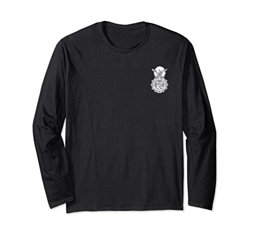 Air Force Security Forces Defender Badge Military Veteran Long Sleeve T-Shirt - Badge Forces Security