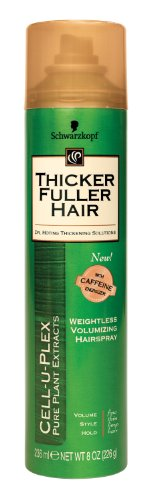 Thicker Fuller Hair Weightless Volumizing Hair Spray - 8 oz