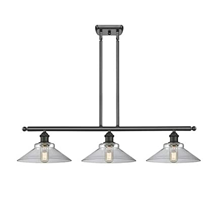 Amazon.com: Innovations 516-3I-OB-G132-LED 3 Island Light ...