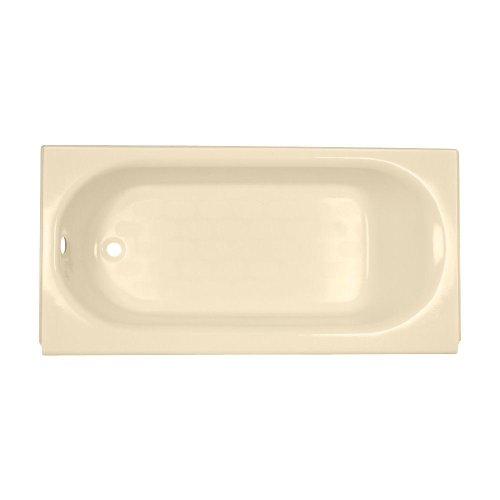 - American Standard 2394.202.021 Princeton 5 ft. Americast Bathtub with Left-Hand Drain in Bone