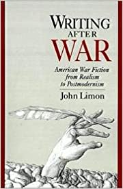 Book Writing After War: American War Fiction from Realism to Postmodernism