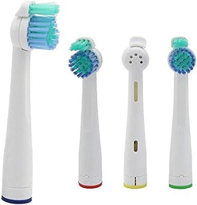 Kongkay® Lote de 8 cabezales de recambio para cepillo de dientes ...