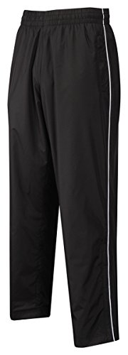 Mesh Lined Wind Pants (Tri-Mountain 2347 Mens micro wind pants with mesh lining - Black - XL)