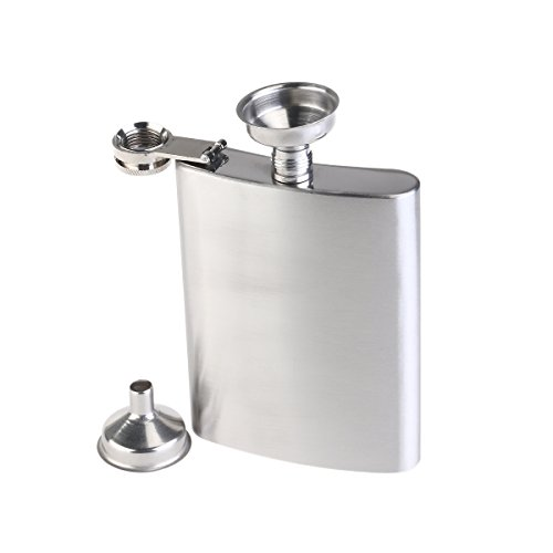 2pcs Stainless Steel Hip Flask 200ml Pocket Hip Flask - 1