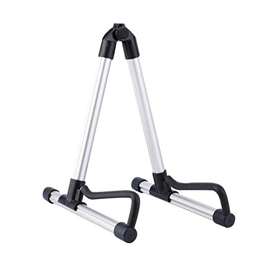 Rack Stand Music Professional Electric Guitar Stand Universal Folding Electric Acoustic Bass Stand A-Frame Musical Rack Holder Guitar Accessories Gray