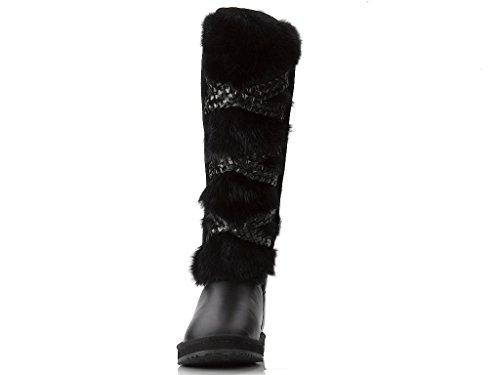 S Bottes pour Noir Australia High Moov Moov Bateau Noir femme 39 Culture Knee Bardot 76tw8
