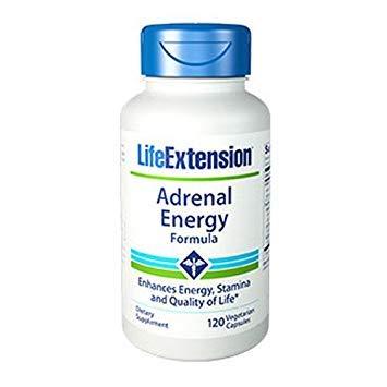 Life Extension Adrenal Energy Formula, 120 -