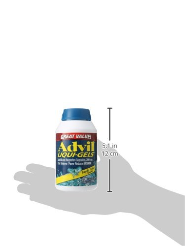 Advil-Liqui-Gels-200-Count-Pain-RelieverFever-Reducer-Liquid-Filled-Capsule-200mg-Ibuprofen-Temporary-Pain-Relief