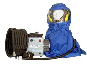 Breathecool II Supplied Air Respirator System w/sandblast - Hood Sandblast