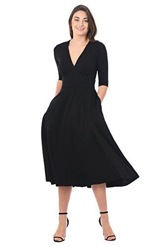 Empire Knit Dress - 5