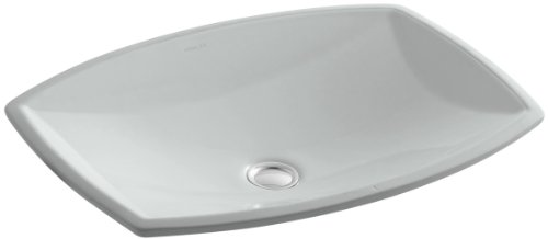 UPC 650531633217, KOHLER K-2382-95 Kelston Undercounter Bathroom Sink, Ice Grey