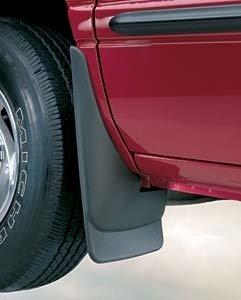 Mud Custom Molded Flaps (Husky Liners HUS-57281: Mud Flaps, Custom Molded, Rear, Thermoplastic, Black, Chevy, Trailblazer, Pair)