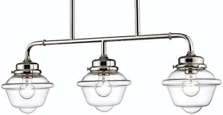 Millennium 3463-PN Three Light Island Pendant