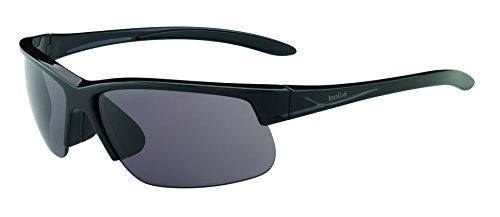 Bollé Gafas brillante de Sol Breaker Adulto Unisex Negro Deportivas qOqCrwSx