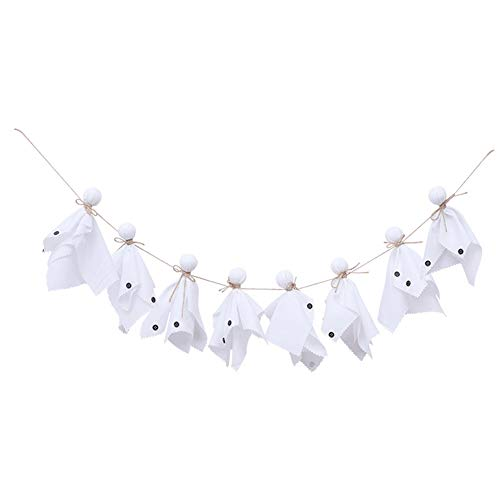 Halloween Ghost Highchair Banner Boy Girl Birthday Party Bunting Garland Decoration by Rainlemon