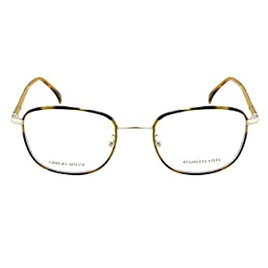 GIORGIO ARMANI GA880 O7Q Men's/Women's Eyeglass Frames - Havana Amber