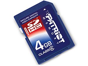 Patriot SDHC SD CARD 4GB MEMORY FOR CANON POWER SHOT A640...