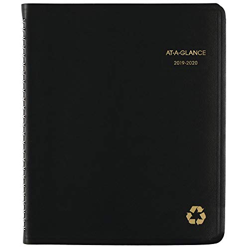 AT-A-GLANCE 2019-2020 Academic Year Weekly & Monthly Planner/Appointment Book, Medium, 7