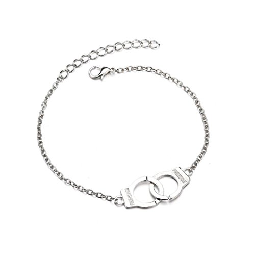 Strand Adjustable Clasp - kaifongfu Women Anklet Adjustable Chain Foot Beach Bracelet Ankle (Silver)