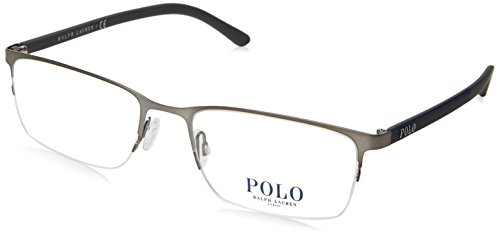 Polo Men's PH1150 Eyeglasses Matte Gunmetal 53mm