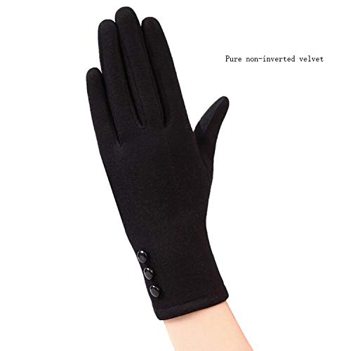 Brave Rosemary Ladies Touch Screen Warm Lace Gloves Winter Cashmere Long Full Finger Glove 19A,B Black,One Size Cashmere Silicone Iphone Case