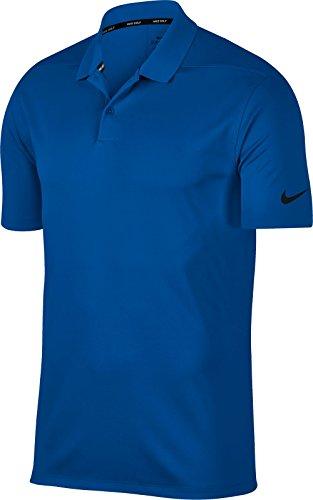 Shirt Nebula Black Golf Polo Men's Dry NIKE Solid Blue Victory xwYg8gq