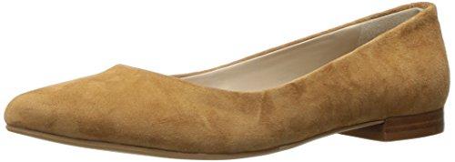 G.H. Bass Co. Women's Kayla Pointed Toe Flat Tan JDk6Ti