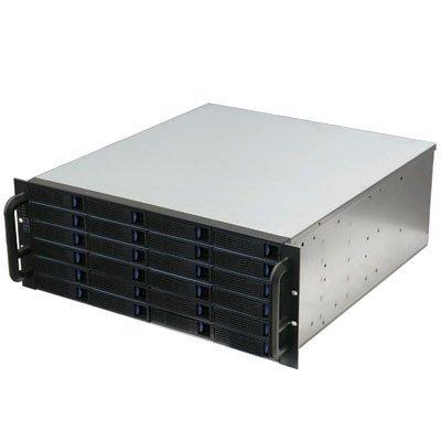 DS-24D External 4U 24 Bay Hot-Swap SAS/SATA Rackmount JBOD Enclosure by Norco