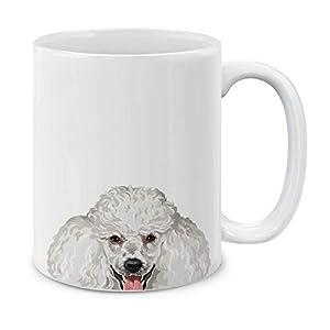 MUGBREW White Standard Poodle Ceramic Coffee Gift Mug Tea Cup, 11 OZ 6