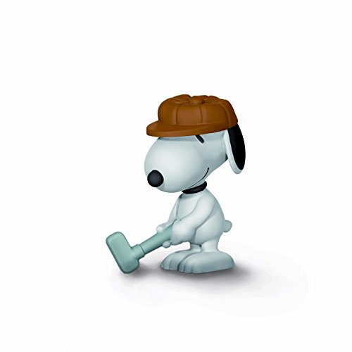 Schleich Peanuts Golfer Snoopy Toy Figure ()