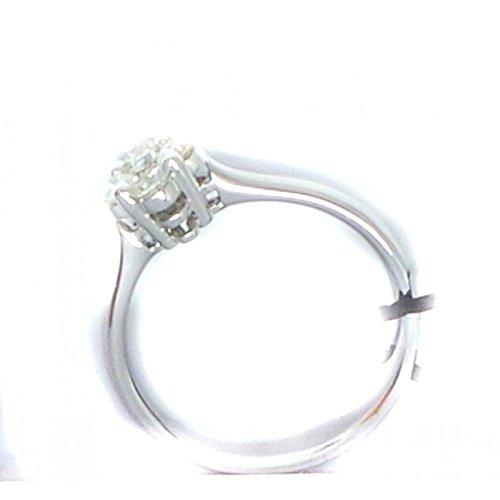 Bague GemOro ab0930bia diamant or blanc diamant