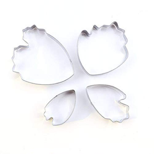 - Peony Shaped Cake Silk Flower Mould Mold Stainless Steel Mould Set,Silver