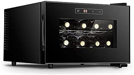 Hmvlw Vinoteca refrigerada Oficina Inicio Pequeño refrigerador refrigerado refrigerador electrónico Temperatura Constante Refrigerador Temperatura Constante Temperatura Vino Refriador de vino Cooler