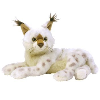 37ccf92fa0a TY Beanie Baby - TRACKS the Lynx  Toy