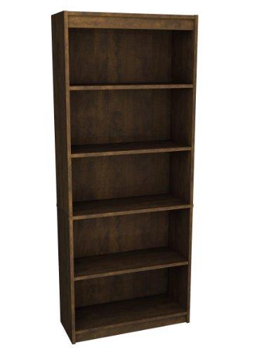 Bestar Inc 65715-1169 Standard Bookcase, Chocolate