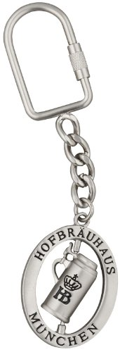 Pinnacle Peak Trading Company Hofbrauhaus Munchen Beer Hall Metal Keychain Munich Germany Souvenir -