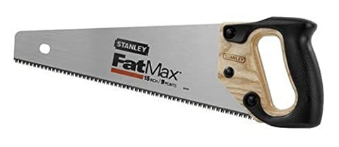 Stanley 20-045 15-Inch Fat Max Hand Saw (Saws All Blade Handle)
